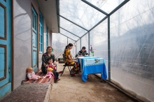 House renovations to improve energy efficiency and food security in Tajikistan
