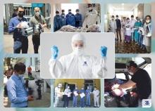 «Банк Эсхата» закупил спецодежду для врачей на 100 тысяч сомони