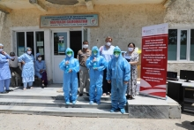Project Sino provides support to healthcare workers in Tajikistan