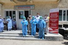 Проект «Сино» направил в помощь медикам Таджикистана СИЗ