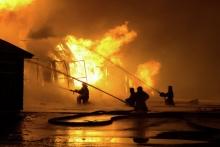В Яване произошел взрыв на АЗС, пострадали восемь  человек