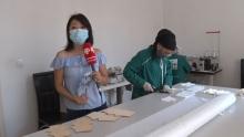 6,5 миллионов масок: где в Душанбе производят маски и спасут ли они от COVID-19