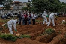 Назван регион с самым большим в мире количеством умерших от коронавируса