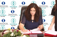 Банк «Арванд» первый в проекте ЕБРР по поддержке малого бизнеса!