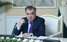 Эмомали Рахмон выдвинут кандидатом в президенты Таджикистана