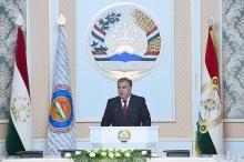Эмомали Рахмон избран делегатом  предвыборного съезда НДПТ