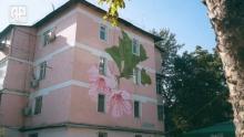 Как душанбинские дома начали украшать рисунками