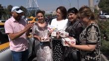 Как «Азия-Плюс» дарила подарки случайным пассажирам