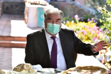 Эмомали Рахмону разъяснили, какова ситуация с распространением коронавируса  в Пенджикенте