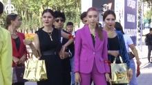 Как проспект Рудаки превратили в модный подиум