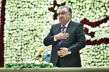 Эмомали Рахмон в Кулябе помолился за стабильность Таджикистана