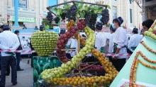Праздник меда и винограда прошел на рынке
