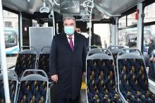 Как выглядят новые автобусы и троллейбусы, которые будут курсировать по Душанбе