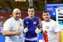 Баходур Усмонов одержал первую победу на профессиональном ринге, одолев россиянина