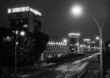 Огни ночного Душанбе. Таким мы его уже не увидим