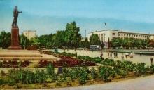Душанбе – зеленая столица СССР. Так было на почтовых открытках старого Душанбе