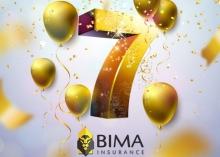 Самые яркие моменты к 7-летию страховой организации «БИМА»