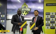 Компания «Formula55» стала титульным спонсором футбольного клуба «Душанбе»