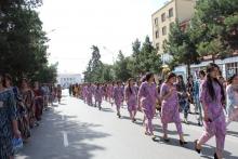 «Оденемся по-таджикски». В Бохтаре прошла акция по пропаганде таджикской одежды