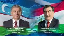 Эмомали Рахмон и Шавкат Мирзиёев обсудили конфликт на таджикско-кыргызской границе