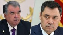 Эмомали Рахмон и Садыр Жапаров договорились встретиться в Душанбе в мае