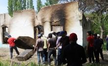 В результате конфликта на таджикско-кыргызской границе пострадали 55 домов жителей