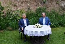 Президенты Таджикистана и Узбекистана провели неформальную встречу в Варзобе