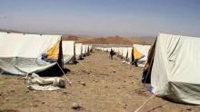 Посол Афганистана в Таджикистане показал палаточный городок для беженцев