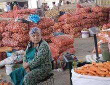 В какой стране Центральной Азии самый дешевый основной продуктовый набор?