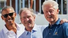 Буш, Клинтон и Обама объединились, чтобы помочь афганским беженцам