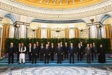 Гимн ШОС впервые в истории прозвучал на саммите в Душанбе