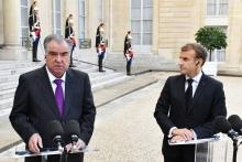 Макрон поприветствовал позицию Таджикистана по Афганистану