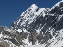 Авария вертолета c альпинистами на борту