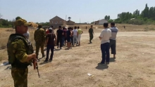 Боестолкновение на таджикско-кыргызской границе